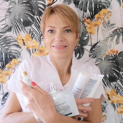 zdjęcie z kosmetykami